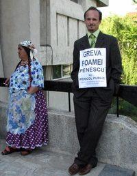 Un pitestean a intrat in greva foamei pentru eliberarea lui Penescu
