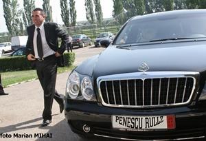Maybach-ul lui Penescu de vanzare pe Autovit