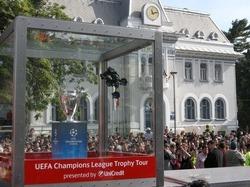 Pitestenii, innebuniti dupa Trofeului UEFA Champions League