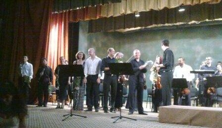 Primul concert din 2010