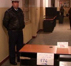 2.000 de politisi si jandarmi pazesc urnele in Arges