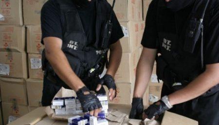 Tigari de contrabanda confiscate la Pitesti