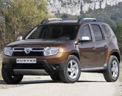 Dacia Duster isi face intrarea pe piata