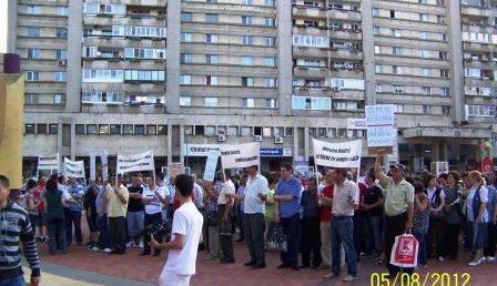 Protest la Arpechim