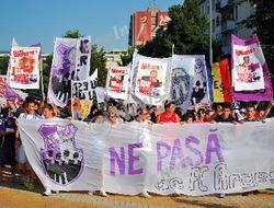 Protest al fanilor FC Arges