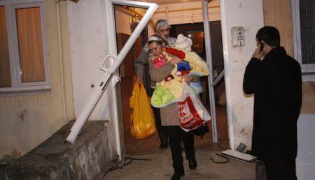 Patru apartamente devastate de o explozie!