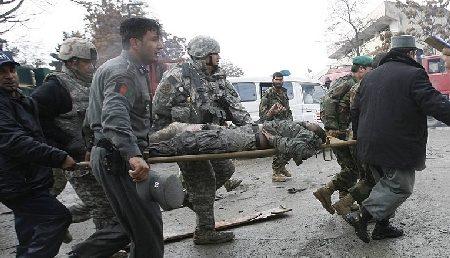 Militar de la U.M. Vanatori de Munte ranit in Afganistan