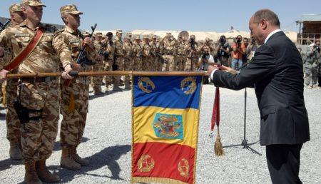 Basescu a decorat Unitatea de Vantori de Munte din Curtea de Arges