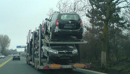 Dacia Duster pleaca spre export