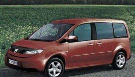 Nou model Dacia in lucru