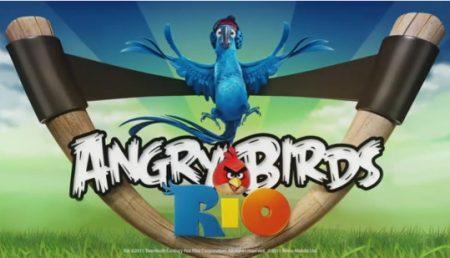 Descarcari record pentru Angry Birds Rio