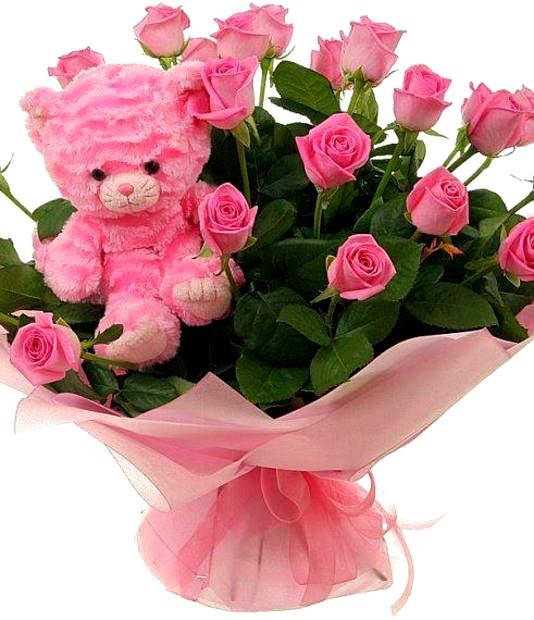 La mul i ani iulia epitesti - Enorme bouquet de fleurs ...