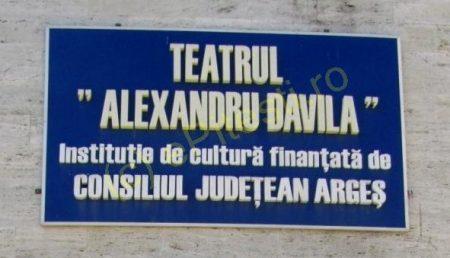 """TEATRUL """"DAVILA"""" SE MUTĂ LA ȚARĂ"""
