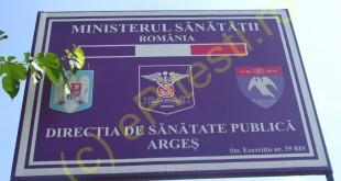 DIRECTIA DE SANATATE PUBLICA ARGES