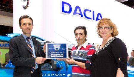 DACIA A ATINS COTA 3.000.000