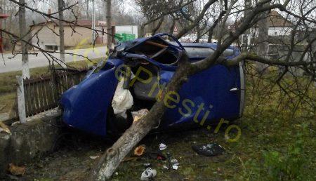 ÎNGROZITOR! FOTOGRAFII DE LA ACCIDENTUL DIN POIENARII DE ARGEȘ