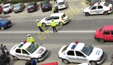 POLIȚIA RUTIERĂ A TĂIAT ÎN CARNE VIE: 24.500 DE AMENZI ÎN 4 ZILE