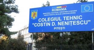 COLEGIUL C NENITESCU PITESTI