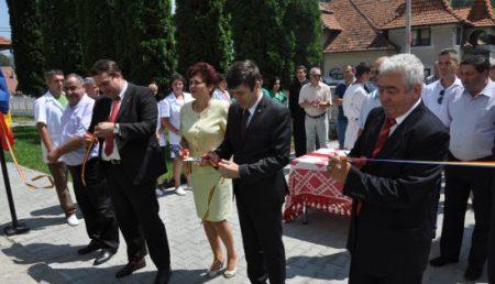 UNITATEA MEDICO-SOCIALĂ DIN RUCĂR A FOST DESCHISĂ