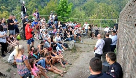 A FOST DRACULA FEST LA CETATEA POENARI