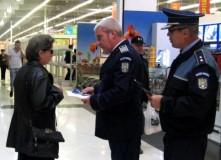 POLIȚIȘTII ARGEȘENI, ÎN HIPERMARKETURI, GARĂ, ȘCOLI ȘI LICEE