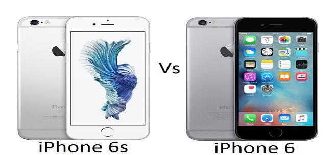 iPhone 6s vsiPhone6 2
