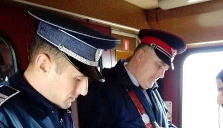 POLIȚIA A FĂCUT CONTROALE ÎN TRENURI