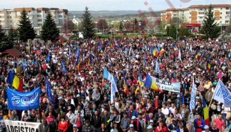MITINGUL ANULUI, AZI ÎN ARGEȘ – PROTEST URIAȘ