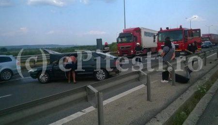 PANICĂ PE AUTOSTRADĂ! (GALERIE FOTO ȘI VIDEO)