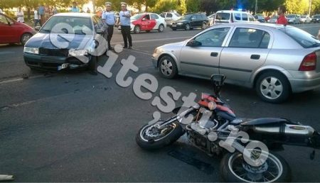 (VIDEO) MOTOCICLIST ACCIDENTAT MORTAL