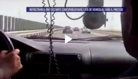 (VIDEO) CAPCANĂ PE AUTOSTRADĂ!