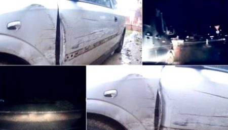 (VIDEO) BASCOV: ACCIDENT FILMAT ÎN DIRECT