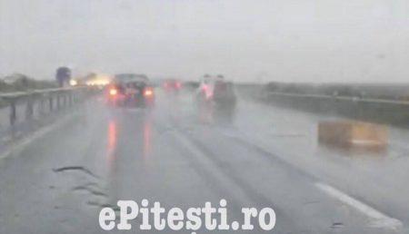 (VIDEO) PERICOL MARE PE AUTOSTRADĂ
