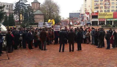 """ACUM: PROTEST ÎN PIAŢA """"MILEA"""""""
