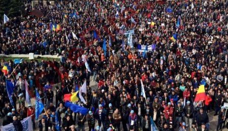 PROTEST DE AMPLOARE LA DACIA