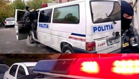 POLIȚIȘTII IES ÎN STRADĂ ÎN CENTRUL PITEȘTIULUI