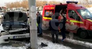 (VIDEO) ACCIDENT ÎN PITEȘTI. A INTERVENIT SMURD