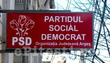 """PSD ARGEȘ CHEAMĂ LA MITING: """"VENIȚI CU NOI!"""""""