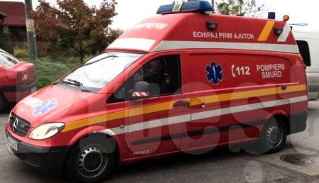 URGENȚĂ! FEMEIE ÎN STOP CARDIO-RESPIRATOR