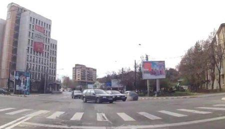 (VIDEO) ACCIDENT LIVE ÎN PITEŞTI