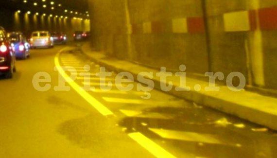 Pasajul rutier din Bascov, închis circulației pe timp de noapte