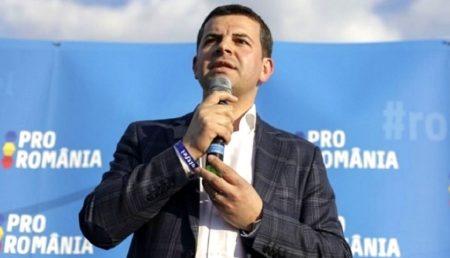 DANIEL CONSTANTIN ŞI-A LANSAT PARTIDUL PRO ROMÂNIA