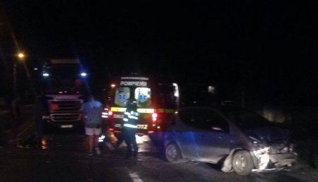 UPDATE: ACCIDENT ÎN BASCOV. COPIL RĂNIT