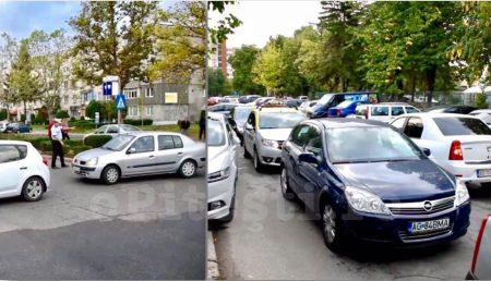 (VIDEO) PITEȘTI: PERICOL PE STRADĂ ÎN CRAIOVEI