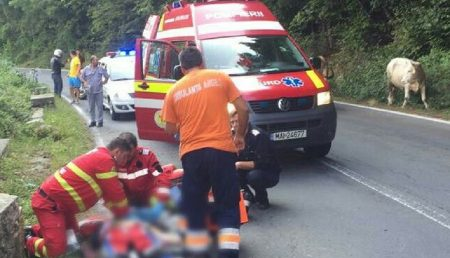 UPDATE: ACCIDENT. UN MOTOCICLIST A MURIT