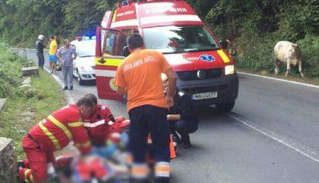 UPDATE: ACCIDENT. UN MOTOCICLIST A MURIT