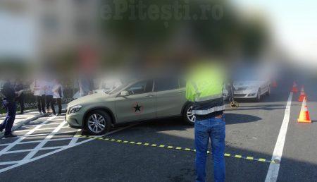 UPDATE: ACCIDENT. PIETON RĂNIT