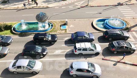 POLIȚIA RUTIERĂ TAIE ÎN CARNE VIE PE CALEA BUCUREȘTI