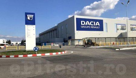 UZINA DACIA PRODUCE PE BANDĂ RULANTĂ LA FOC AUTOMAT