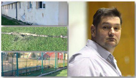 """(VIDEO) """"ARIPI"""" FRÂNTE. DEZASTRU LA RENUMITA BAZĂ SPORTIVĂ"""